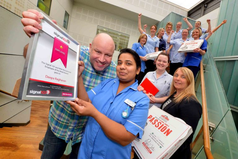 NHS Nurse Employee Of The Week Competition - Our Winners Star Employment Services