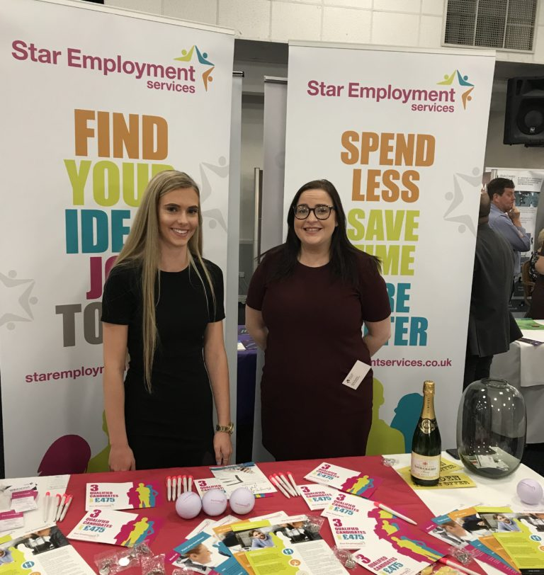 Black Country Chamber Autumn Expo Star Employment Services Kylee Russon Rebecca Rowley